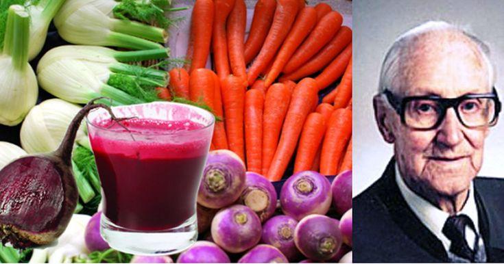 Rudolf Breus, geboren 1899, sagte, dass rohes Essen deinen Körper heilt. Seine Behandlung für Leute, die unter Krebs leiden, hat aus 42 Tage langen Verbrauch eines Arzneitranks und Tees bestanden, und viele Personen ...