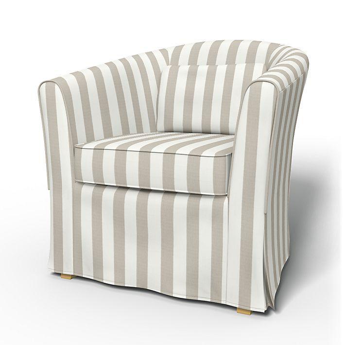 tullsta housse de fauteuil avec passpoil home decor. Black Bedroom Furniture Sets. Home Design Ideas