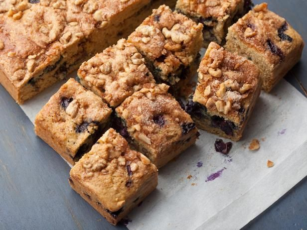 Get Ellie Krieger's Blueberry Coffee Cake Recipe from Food Network