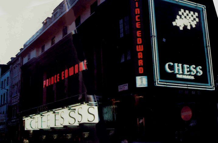 #Chess Musical in #London - 1986