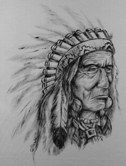 Getting A Native American Indian Tattoo The Trouble With - 439×580
