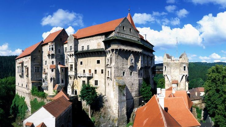 Czech republic - Pernštejn Castle