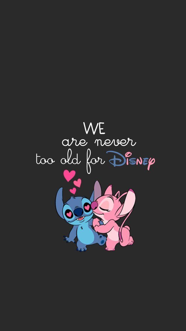 Cute Disney Wallpapers Tumblr Fondo De Source Pink Stitch Wallpaper Iphone Matatarantula