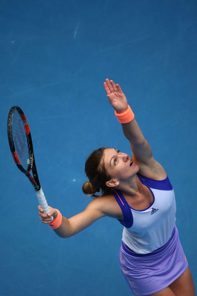 Simona Halep Pictures - 2015 Australian Open - Day 9 - Zimbio