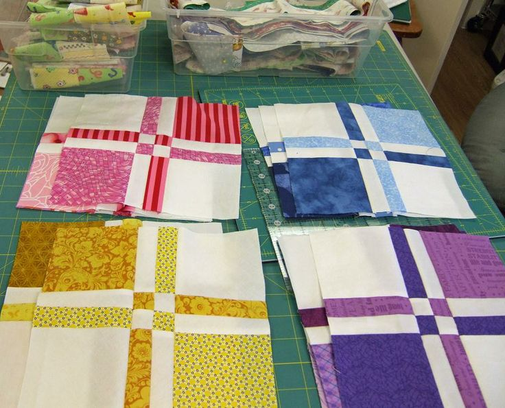 126 best Disappearing 4 patch images on Pinterest | Sew, Abandoned ... : disappearing 4 patch quilt block - Adamdwight.com