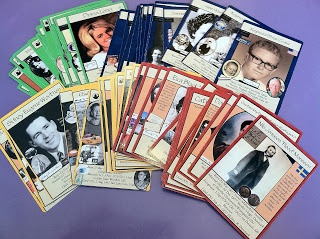 Ancestor Cards - I started doing this and then forgot to keep making them. Still, it's a great idea to help your family know their ancestors.