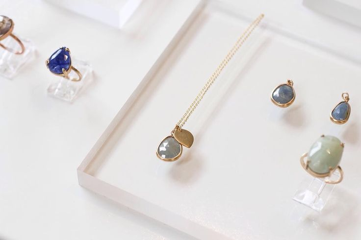 Accessorizing with sapphires