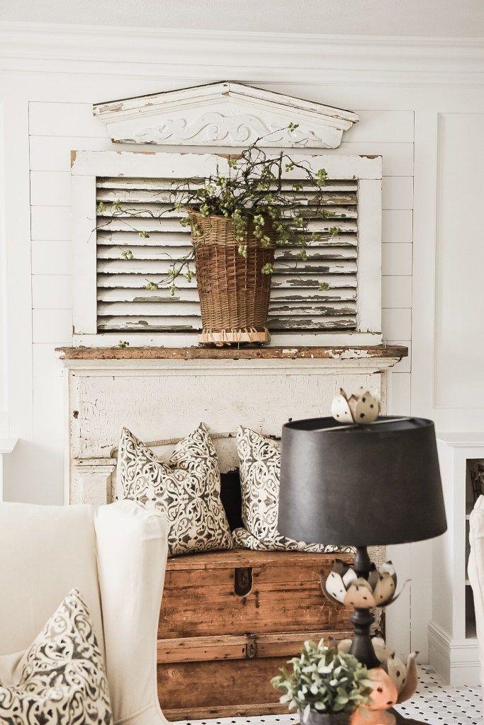four simple ways to style a mantel farmhouse home decor diy rh pinterest com