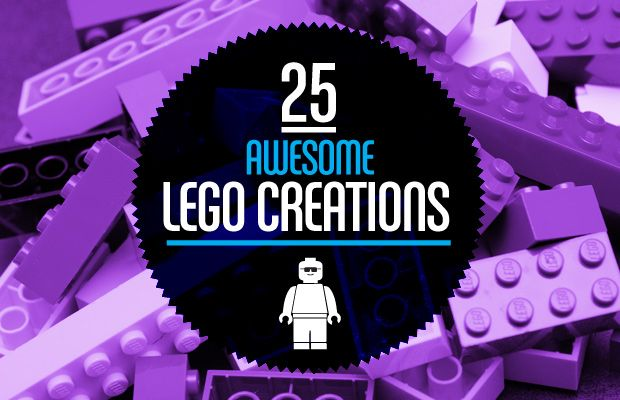 25 Awesome Lego Creations