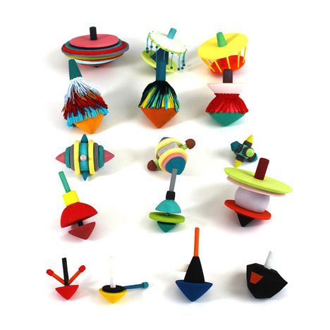 TOUPS Spinning Tops by Catherine Stolarski,