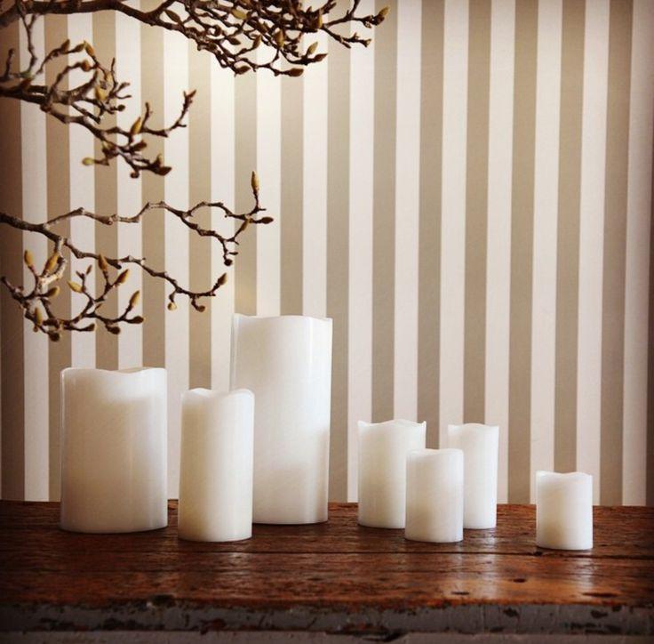 Vanilla Real Safe Candles range #realsafecandles #flamelesscandles #vanillacandles #candles #decorations #giftideas #christmasideas #weddingideas #lighting