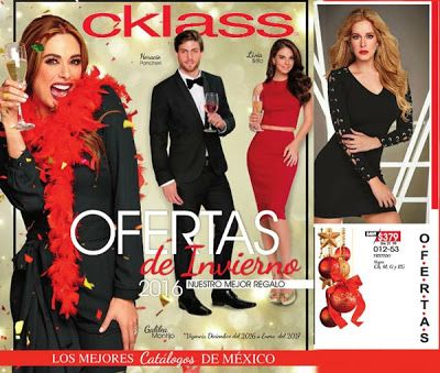 Ofertas de Invierno 2016 Cklass. Ofertas de Navidad, rebajss en ropa y zapatos para las fiestas de fin de año. Moda mexicana #cklass