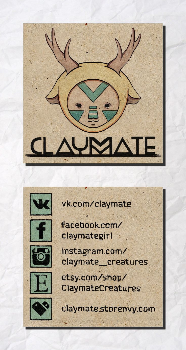 Логотип и визитка для онлайн-магазина кукол
