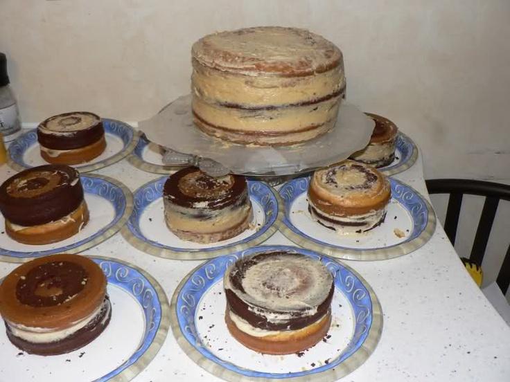 Шахматный Торт : Торты, пирожные