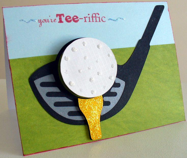 Golf card - Scrapbook.com