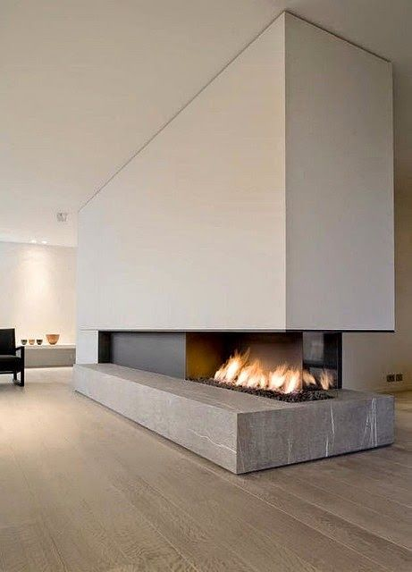 Norse White Design Blog: Modern Fireplaces