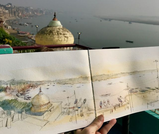 What I Learned About Sketching on a Trip to India, Part 1