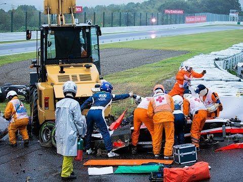 Jules Bianchi In Hospital   Jules Bianchi's Death