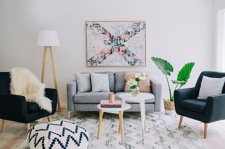 A touch of greenery for your chic Scandinavian living room Decoists 25 Best Posts of 2015