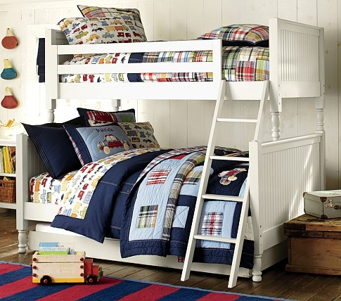 Catalina Cottage TwinOverFull Bunk Bed Pottery Barn