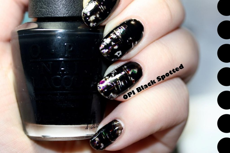 Manicurity: ABC: B = Black Spotted!
