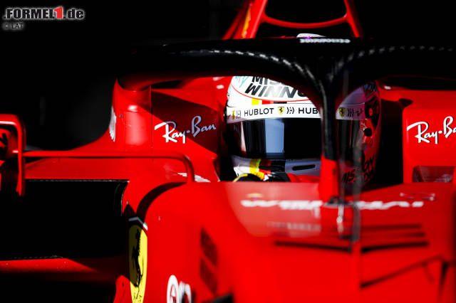 F1 Test Barcelona Vettel Faster Than Leclerc In Sf1000 Debut News Breakingnews Newscbs World Latest In 2020 Super Sport Cars Barcelona New Ferrari