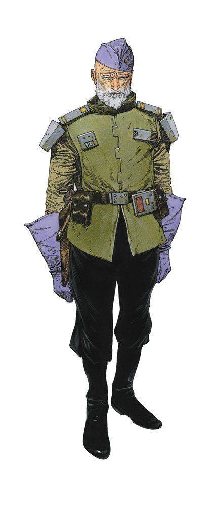 Commander Morg by Travis Charest