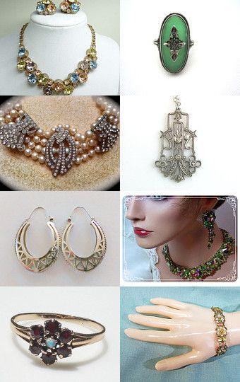 --Pinned with TreasuryPin.com #EcoChic #TeamLove #Vintage #Fashion #Jewelry