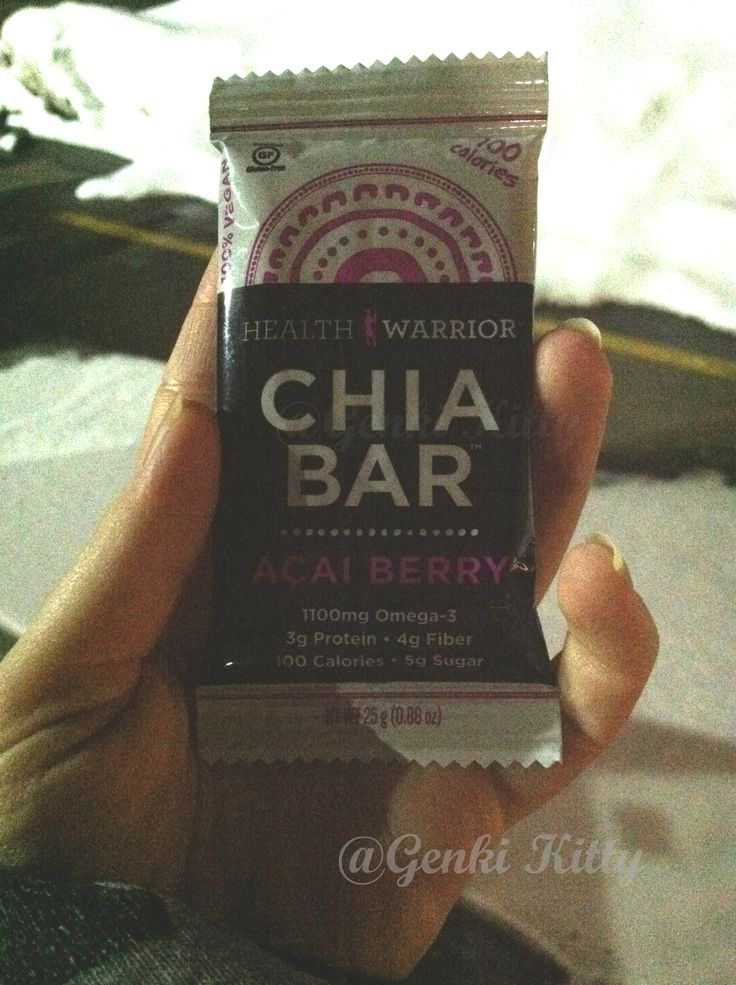 Chia Bar Snacks