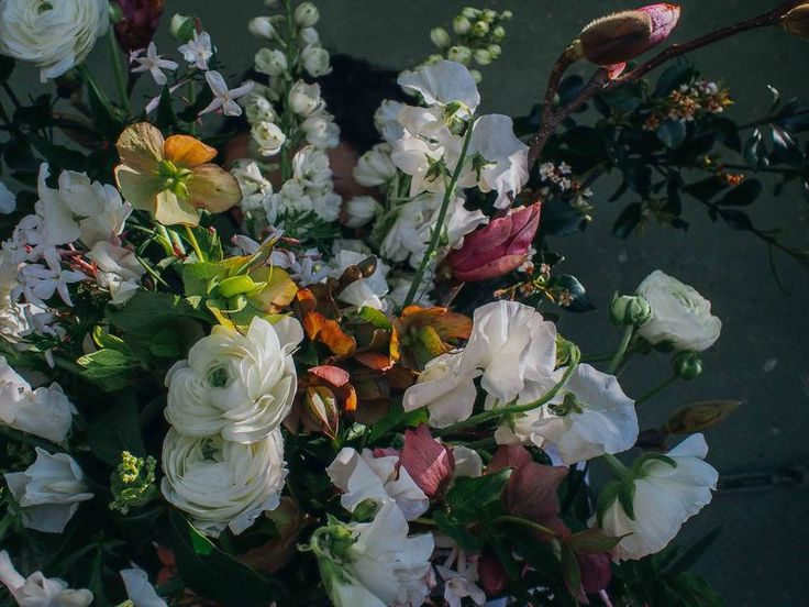 Fragrant winter florals.