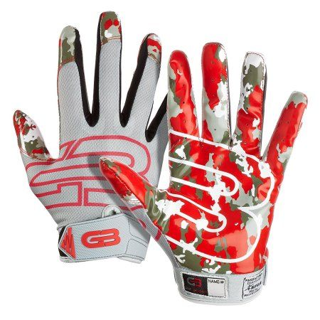 Grip Boost Stealth Football Gloves Pro Elite, Red