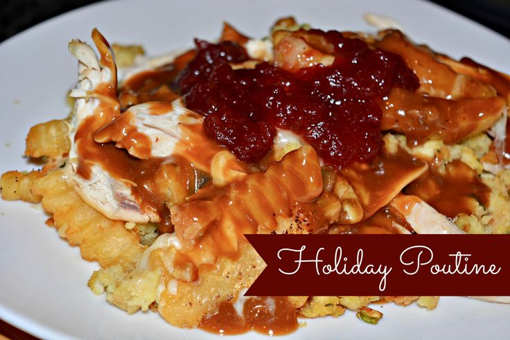 Holiday Poutine