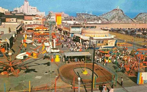 The Pike Long Beach Amusement Parks Roller Coasters Old