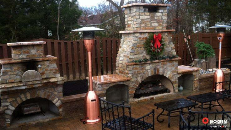23 best images about outdoor fireplaces on pinterest for Prefab outdoor fireplaces