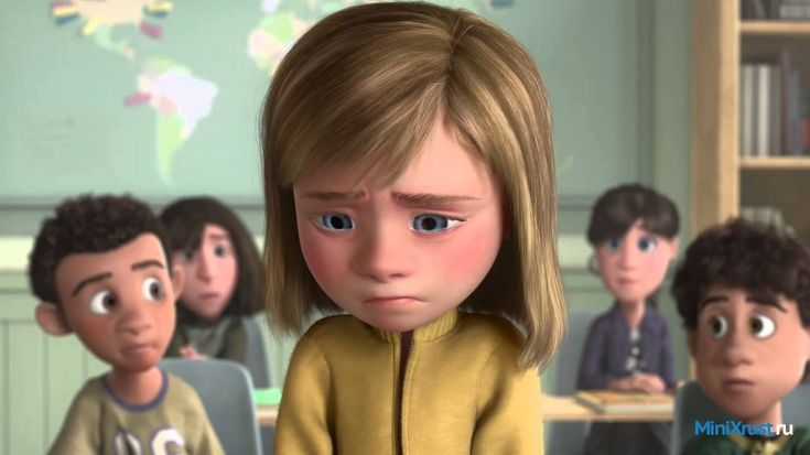 Головоломка http://minixrust.ru/movies/80-golovolomka.html   В маленькой девочке по имени Райли живут базовые эмоции, которые работают сообща. Каждая из них знает свои обязанности. Они помогают 11-летней девочке справляться с разными жизненными ситуациями. Жизнь эмоций в дружбе и согласии – идеальный вариант для всех. Но, вдруг случается нечто, которое изменяет обычный ход событий. Родители решают, что семьи необходимо переехать. Вот здесь и наступает веселое время. Каждая из эмоций думает…