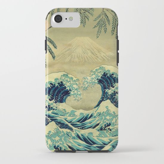 Society6 | Our Tough Cases are constructed as a two-piece, impact resistant, flexible plastic case with an extremely slim profile and extra shock dispersion. A flexible rubber liner provides a secure fit and feel without compromising style. Simply snap the case onto your phone for premium protection and direct access to all device features.$38.00