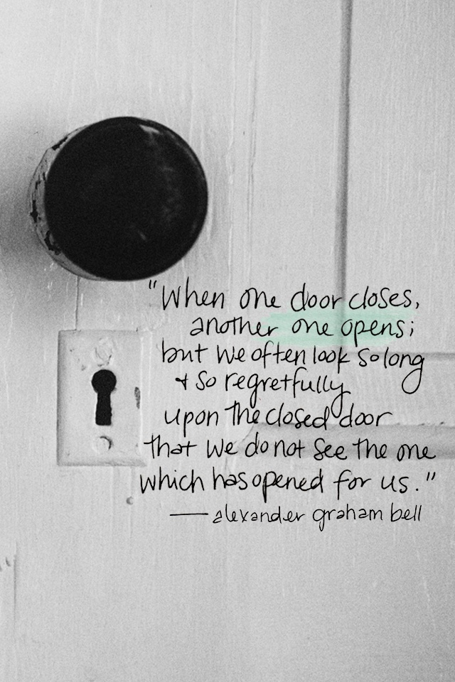 Opportunity does not knock, it presents itself when you beat down the door - Kyle Chandler
