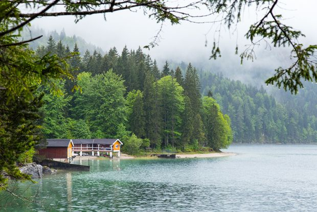 Travel - Eibsee in Bavaria, Germany