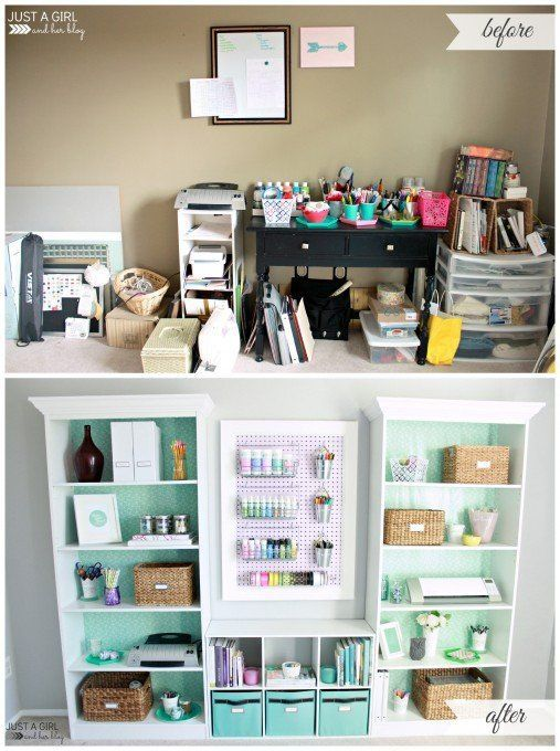 13 amazing diy projects office makeover offices and design for Office diy projects