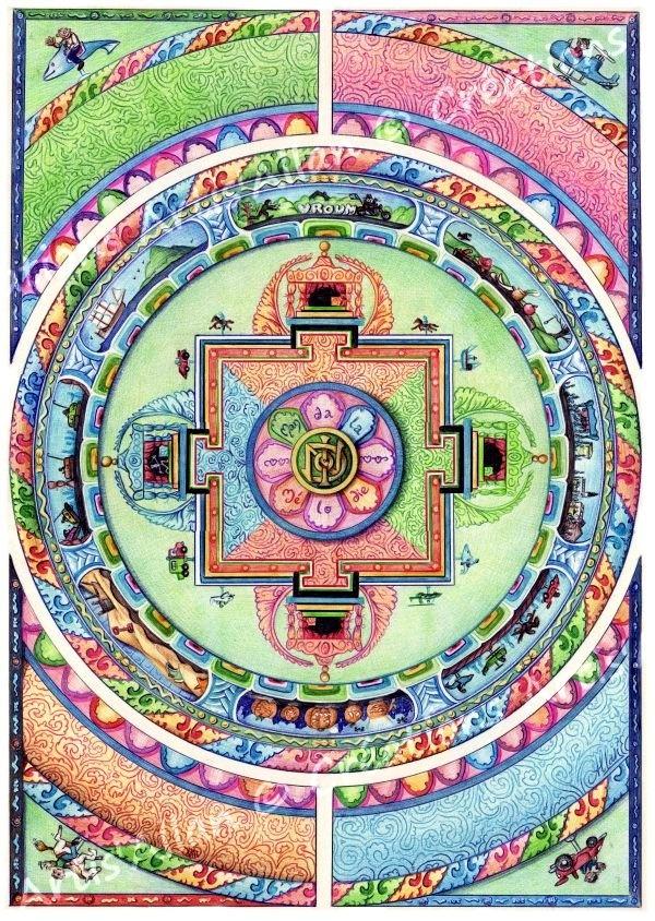 Mandala Melody by Allan Barbeau