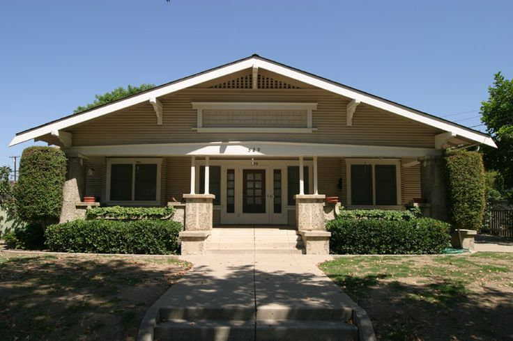 Craftsman bungalow, South Grand Street, Orange, California, 2003