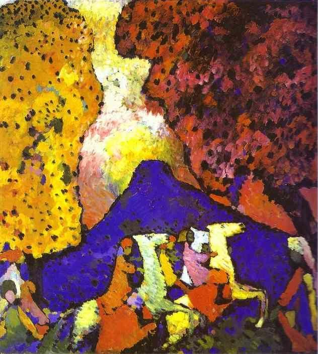 Kandinsky: The Blue Mountain