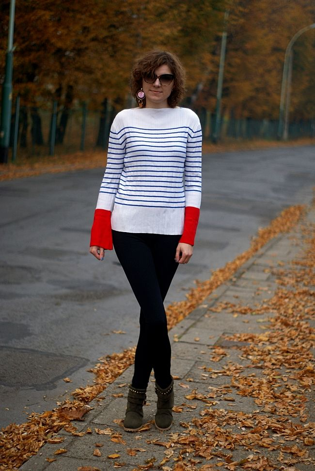 A new life: Zaful striped sweater