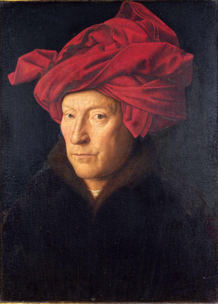 Portrait of a Man by Jan van Eyck, ca.1390
