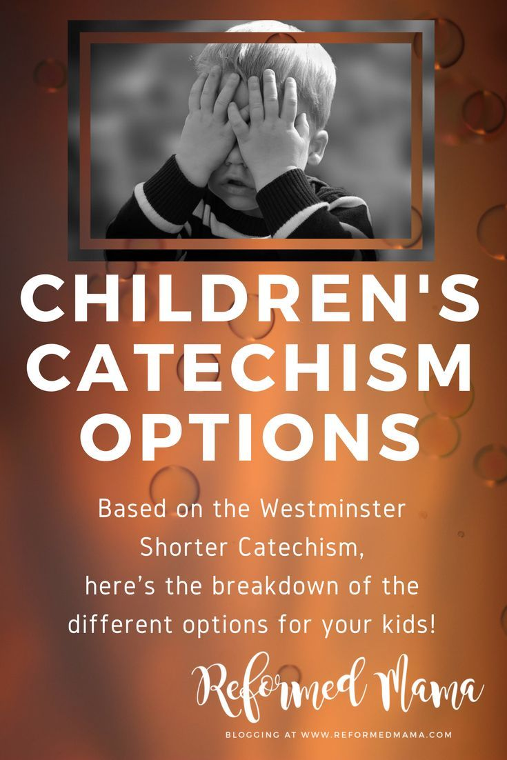 The catechism for children and parents