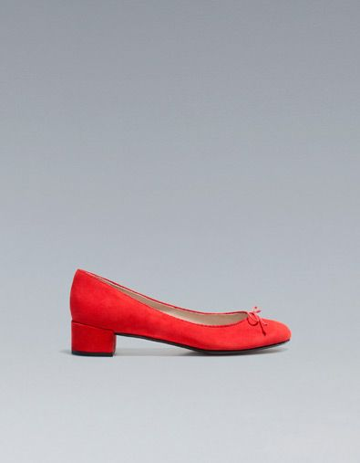 HIGH HEEL BALLERINA - Shoes - Woman - ZARA United States