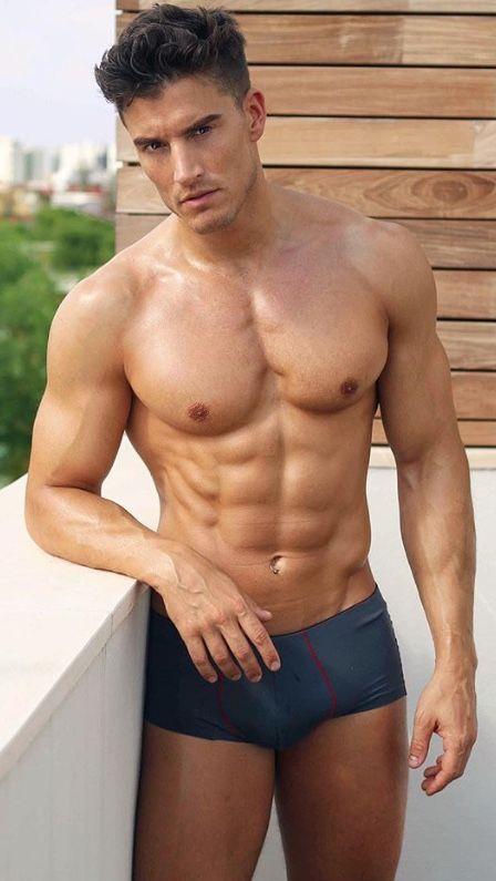 Hot sexy muscular hunk