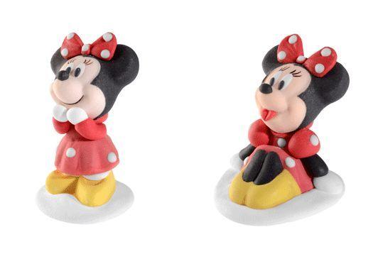 Minnie, la storica fidanzata di Topolino, è da sempre uno dei personaggi più amati dalle bambine di tutto il mondo...Decora la torta di compleanno di tua figlia con le statuine in zucchero di Minnie, disponibili sul nostro sito a soli 2,49 €  #minnie #decorazioniperdolci