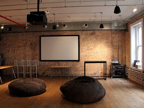 Nice for a warehouse office that can turn into a dance studio. Broadway-office-lounge-area-home-of-our-aol-ventures-and-mapquest.jpg