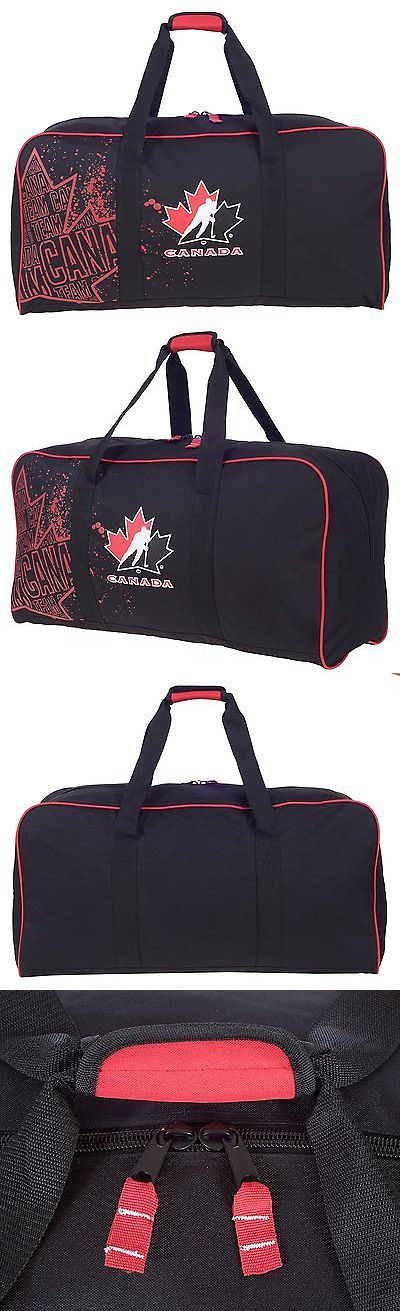 Equipment Bags 58113: Hockey Canada Official 30 Equipment Hockey Duffel Bag -> BUY IT NOW ONLY: $31.15 on eBay!